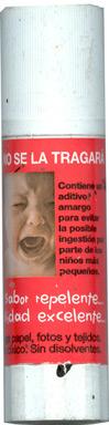 Analisis de un pegamento Infantil